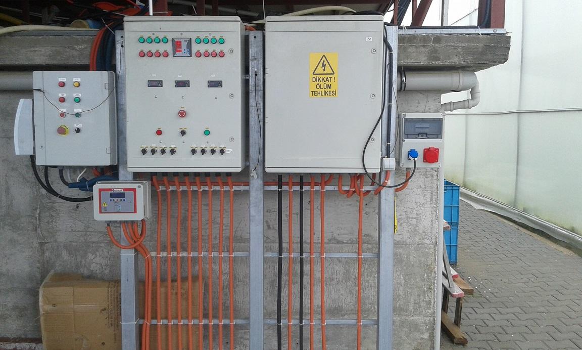 Sera elektronik otomasyon sistemleri