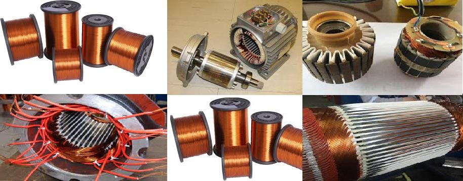 Her çeşit elektrik motorunun tamiri ve bobinajı